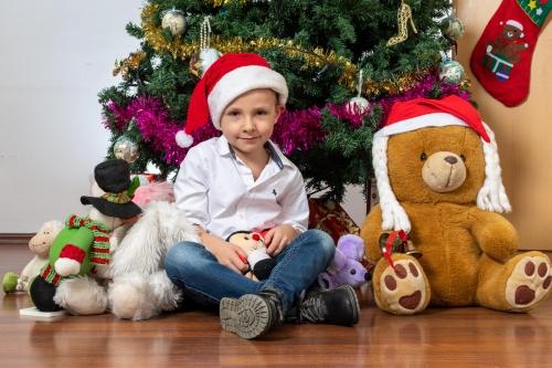 Kalėdinė fotosesija. Dariusz, Jolanta ir Adam
