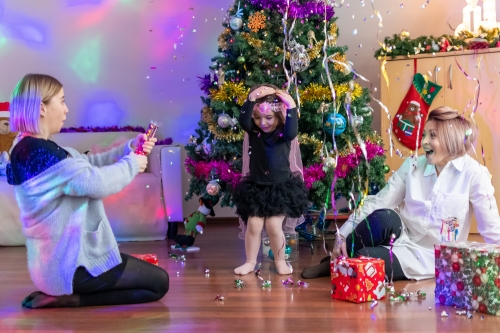 Kalėdine fotosesija. Rūta, Laura ir Adrijana