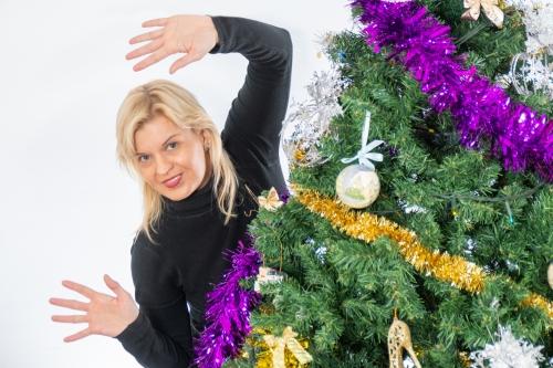 Kalėdinė fotosesija. Olga