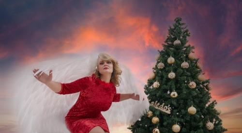 Lolita. Fotosesija Kalėdnis Angelas